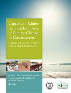Cover for Massachusetts Cliamte Change Report