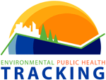 logo for the National State Partner of the Environmental Public Health Tracking Program